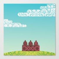 Chantily Castle I Canvas Print