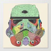 Gore Trooper  Canvas Print
