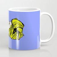Robyn - Roy Lichtenstein Inspired Portrait 2 Mug