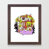 Fun Fun Fun Framed Art Print