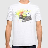 Converse Sneakers Painting Mens Fitted Tee Ash Grey SMALL
