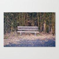 Bench in Brick, NJ Canvas Print