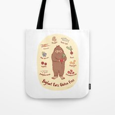 Bigfoot Eats Gluten Free Tote Bag