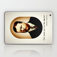 Theodore Roosevelt  |  I'll Kick You In The Balls  |  Famous Quotes Laptop & iPad Skin