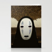 No-Face Maki-e Stationery Cards