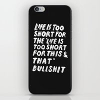 TOO SHORT FOR ANYTHING iPhone & iPod Skin
