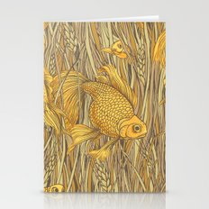 Goldfishes In The Rye Stationery Cards