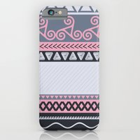 iPhone & iPod Case featuring Tribal Boho by Valerie Hoffmann