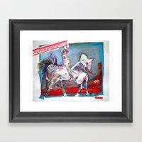 Ride Till U Die Framed Art Print