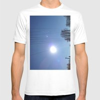 High Wire Mens Fitted Tee White SMALL