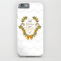 Flower laurel iPhone 6 Slim Case