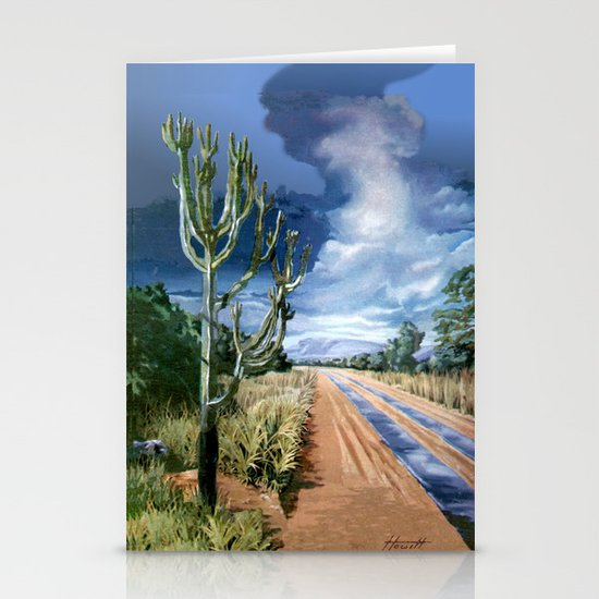 Country Road Stationery Card