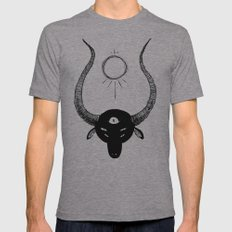 goat lord Mens Fitted Tee Athletic Grey SMALL