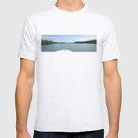 The Fisherman estuary Mens Fitted Tee Ash Grey SMALL