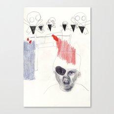 Pirate boy Canvas Print