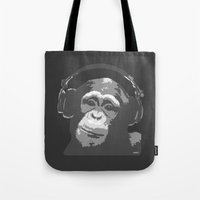 DJ MONKEY Tote Bag