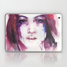 A girl from the other side of the street Laptop & iPad Skin