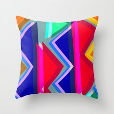 Collage overlay  Throw Pillow