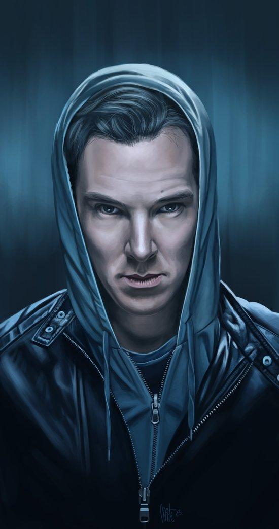 Blue Steel - Benedict Cumberbatch Art Print