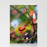 Autumn Rainbow Stationery Cards