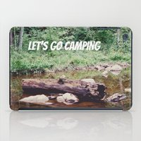 Let's Go Camping II iPad Case