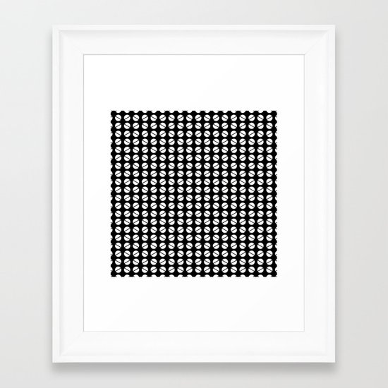 Fortuyn Pattern Framed Art Print