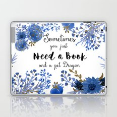 Need Books & Dragons Laptop & iPad Skin