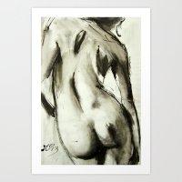Bare Comfort Art Print