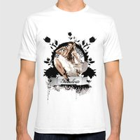 Lady Fabulous Mens Fitted Tee White SMALL