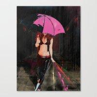 CLASSIC GIRL Canvas Print