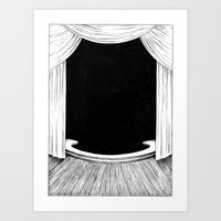 Stage Art Print