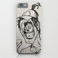 iPhone & iPod Case featuring Imagination (sketch) by Adam Dunt