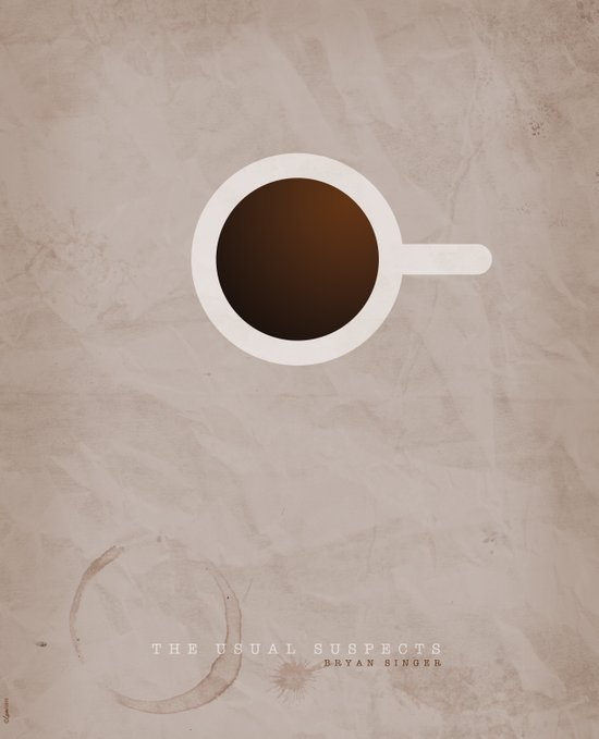 SMOOTH MINIMALISM - Usual Suspects Art Print