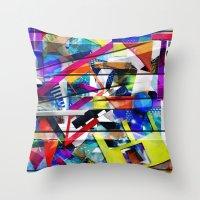 Organized Chaos Throw Pillow