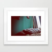 Pillow Talk Framed Art Print