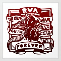 RVA Forever Art Print