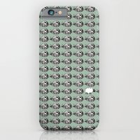 iPhone & iPod Case featuring Lot of whales by hannchen