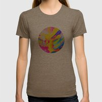 Untitled Womens Fitted Tee Tri-Coffee SMALL