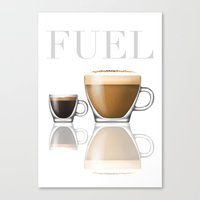 Fuel Canvas Print