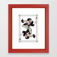 Queen Of Wings Framed Art Print