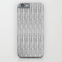 Knit Outline iPhone 6 Slim Case