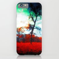 iPhone & iPod Case featuring Fallen Leaves - Painting Style by ElvisTR