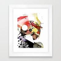 Just Say No (To War) Framed Art Print
