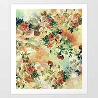 roses Art Prints featuring Roses by RIZA PEKER