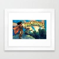 Full Colour Cromulence Framed Art Print