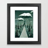 Forbidden Gateway Framed Art Print