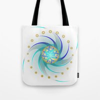 Fleuron Composition No. 118 Tote Bag