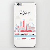 London upperground iPhone & iPod Skin