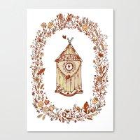 Birdhouse Canvas Print
