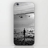 Walk On The Beach iPhone & iPod Skin
